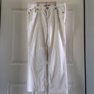 Aeropostale white corduroy pants. Womens size 9/10